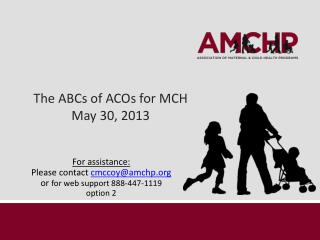 The ABCs of ACOs for MCH May 30, 2013