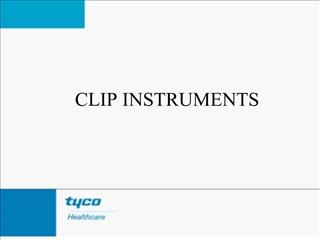 clip instruments