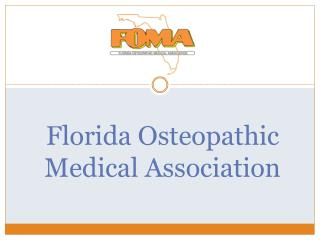 Florida Osteopathic  Medical Association