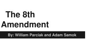 The 8th Amendment