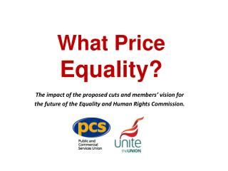 What Price  Equality?
