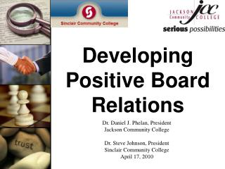 Developing Positive Board Relations