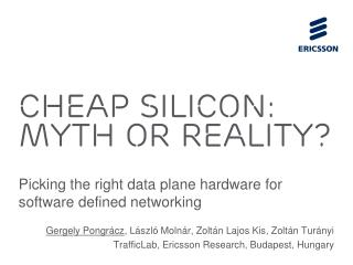 chea p silicon: myth or reality?
