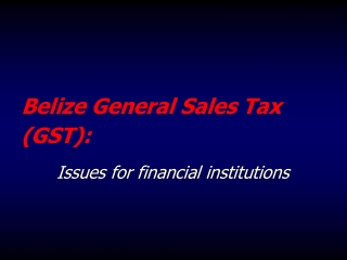 taxation aspects of offshore investment