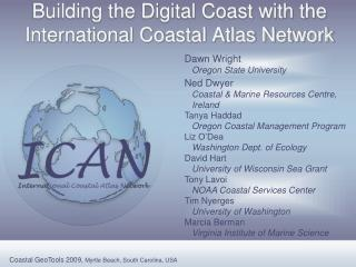 Building the Digital Coast with the International Coastal Atlas Network