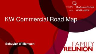KW Commercial Road Map