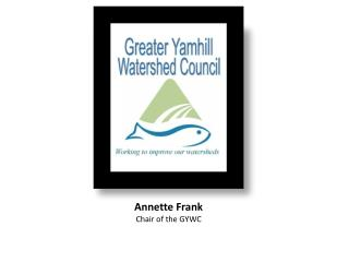 Annette Frank Chair of the GYWC