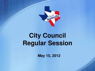 City Council Regular Session