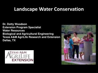 Landscape Water Conservation
