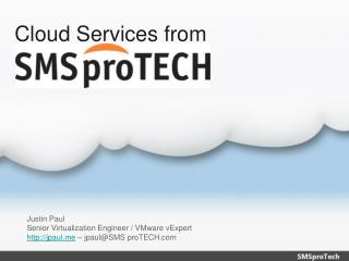 Cloud Services from