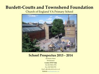 Burdett-Coutts and Townshend Foundation Church of England VA Primary School