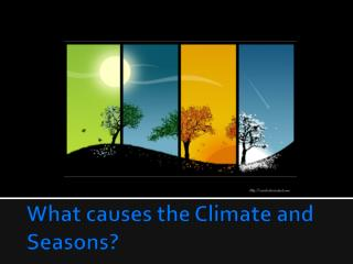 What causes the Climate and Seasons?