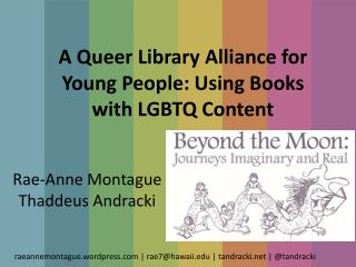 A Queer Library Alliance for Young People: Using Books with LGBTQ Content