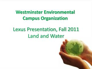 Westminster Environmental Campus Organization