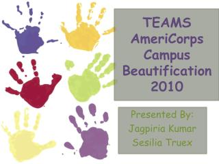 TEAMS AmeriCorps Campus Beautification 2010