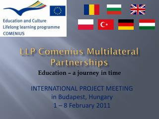 LLP Comenius Multilateral Partnerships