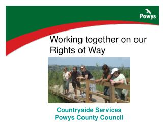Countryside Services Powys County Council