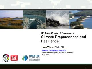 US Army Corps of  Engineers -  Climate Preparedness and Resilience
