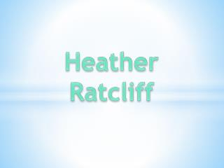 Heather Ratcliff