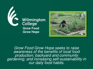Grow Food  Grow Hope
