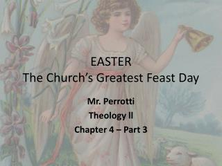 EASTER The Church's Greatest Feast Day