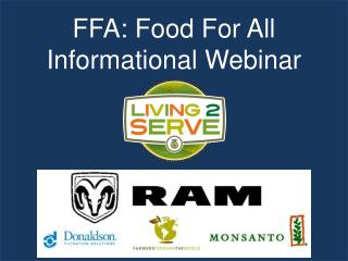 FFA: Food For All  Informational Webinar