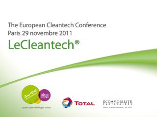 Michael Paik, General Counsel & SVP, International Projects For LeCleanTechPollutec Paris, November 29th, 2011 EnerO