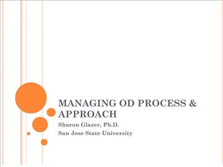 managing od process  approach