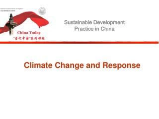 Climate Change and Response