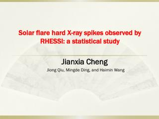 Solar flare hard X-ray spikes observed by  RHESSI: a  statistical study