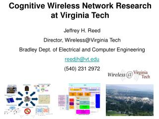 Cognitive Wireless Network Research  at Virginia Tech