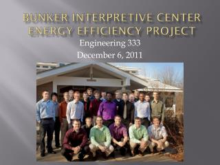 Bunker Interpretive Center Energy Efficiency Project
