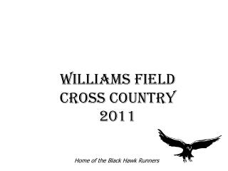 Williams Field Cross Country 2011
