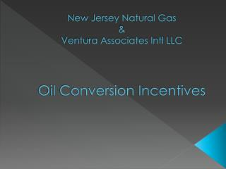 New Jersey Natural Gas & Ventura Associates Intl LLC