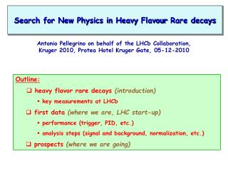 Search for New Physics in Heavy  Flavour  Rare decays
