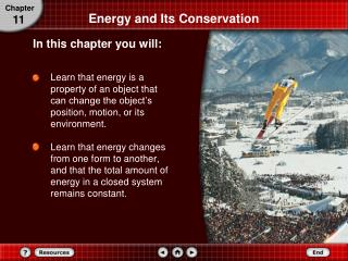 Energy and Its Conservation