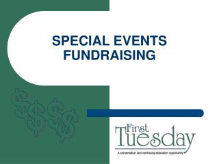 special events fundraising