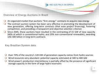 "An organized market that auctions ""firm energy"" contracts to acquire new energy"