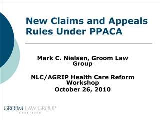 ppaca s claims and appeals regulation