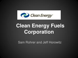 Clean Energy Fuels Corporation