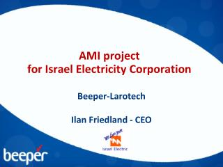 AMI project for Israel Electricity Corporation