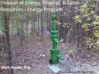 Division of Energy, Mineral, & Land Resources - Energy Program