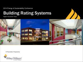 Building Rating Systems