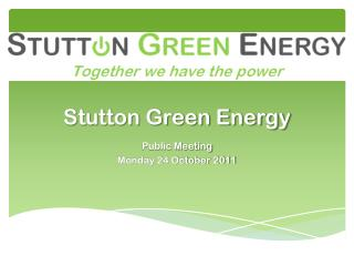 Stutton Green Energy