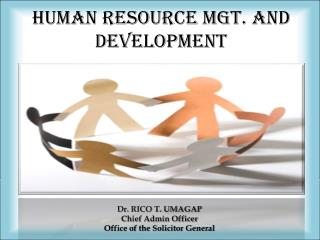 human resource MGT. AND DEVELOPMENT