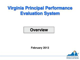 Virginia Principal Performance Evaluation System