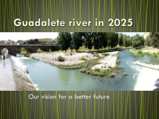 Guadalete river in 2025