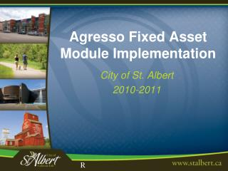 Agresso Fixed Asset Module Implementation