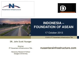 INDONESIA –  FOUNDATION OF ASEAN