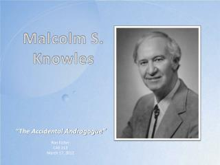 Malcolm S. Knowles